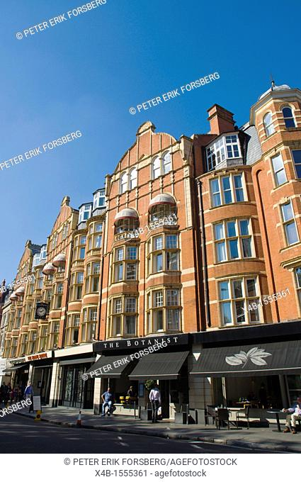 Sloane Square in Chelsea borough London England UK Europe
