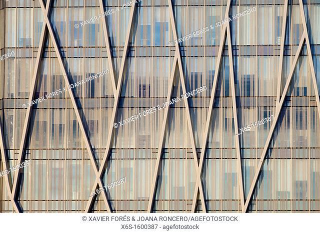 Telefonica building, Fòrum, Barcelona, Spain