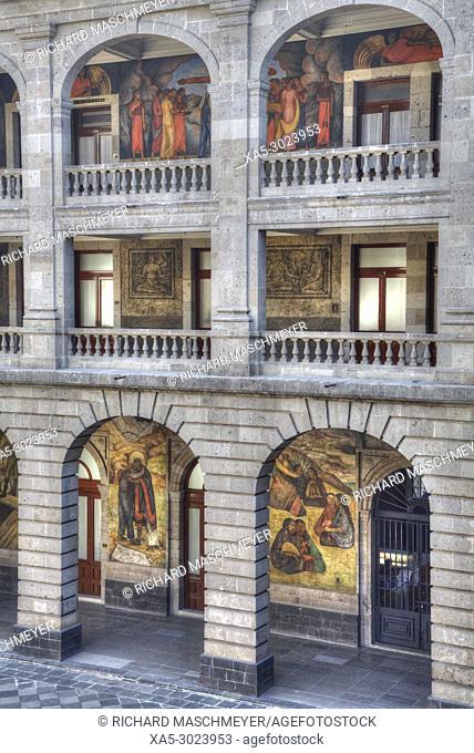 Wall Murals by Diego Rivera, Secretariate of Education Building, Mexico City, Mexico