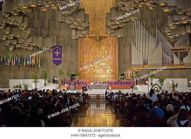 Mexico, Central America, city, Basilica of Our Lady of Guadalupe, Sanctuary, South America, February 2008, pilgrim, pi