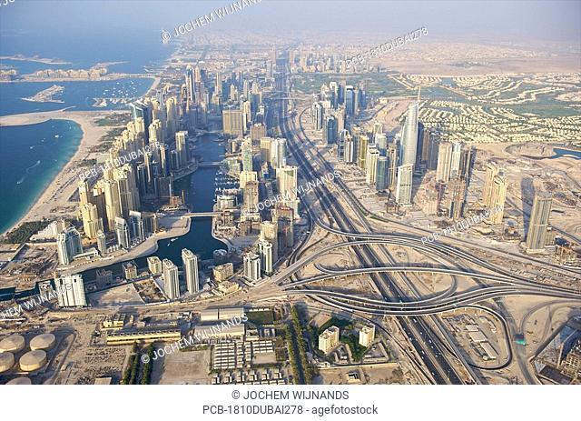 Dubai, the development of Dubai Marina