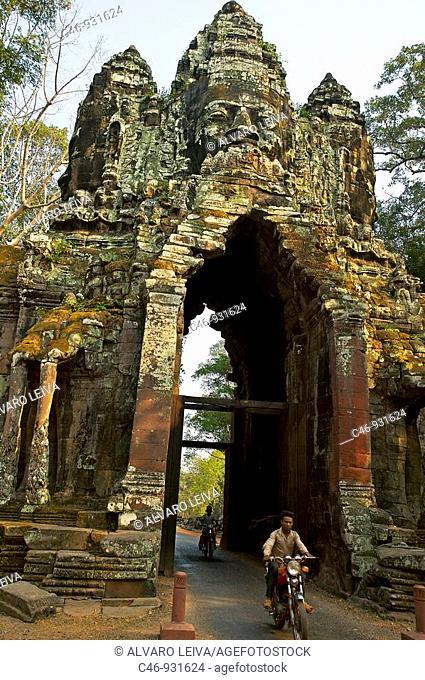 North Gate. Angkor Thom. Cambodia