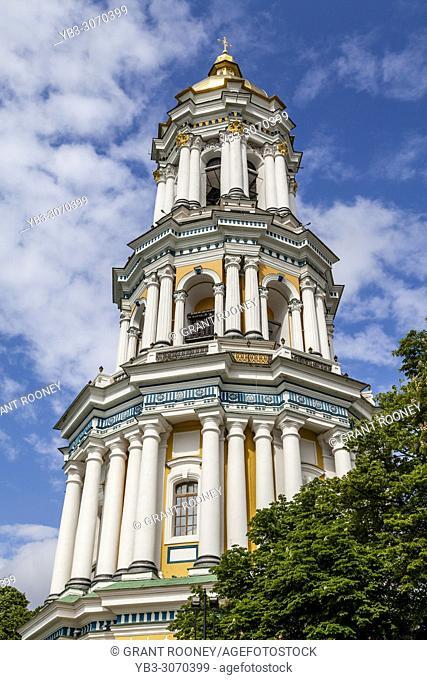 The Great Lavra Bell Tower At Pechersk Lavra Monastery Complex, Kiev, Ukraine