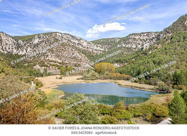 Laguna de Taravilla, Natural Park of Alto Tajo, Guadalajara, Spain