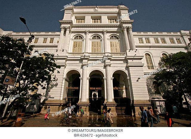 The Indian Museum (founded 1814), Kolkata, West Bengal, India, Asia