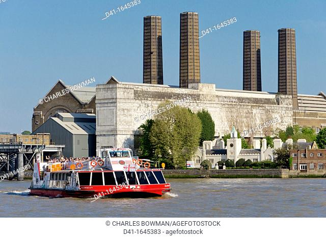 UK, England, London, Greenwich power station