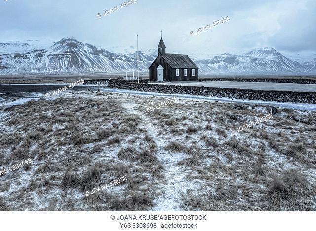 Budir, Snaefellsnes, Iceland, Europe