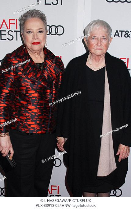 """Kathy Bates, Barbara Bobi Jewell 11/20/2019 AFI Fest 2019 Gala Screening """"""""Richard Jewell"""""""" held at the TCL Chinese Theater in Los Angeles, CA"""