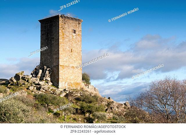 Watch tower from Penamacor Castle, Portugal