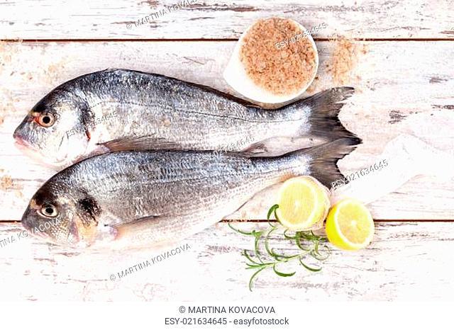 Luxurious mediterranean seafood background