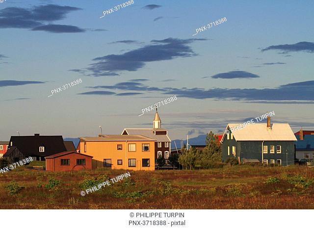 Islande, Sudurland. Eyrarbakki