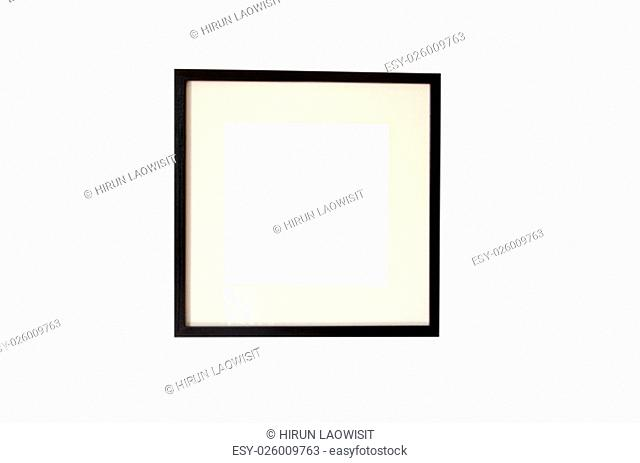 photo frame isolated on the white