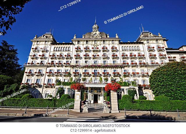Grand Hotel des Iles Borromees, Stresa, Lago Maggiore, Italy