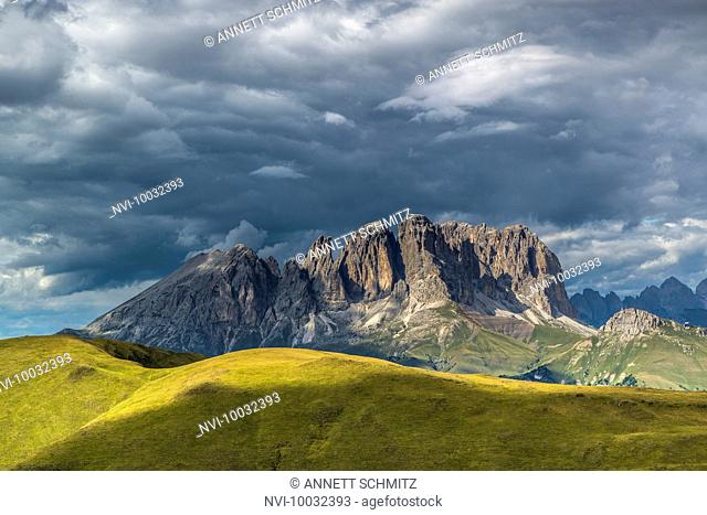 Langkofel Group, Val di Fassa, Dolomites, South Tyrol, Italy