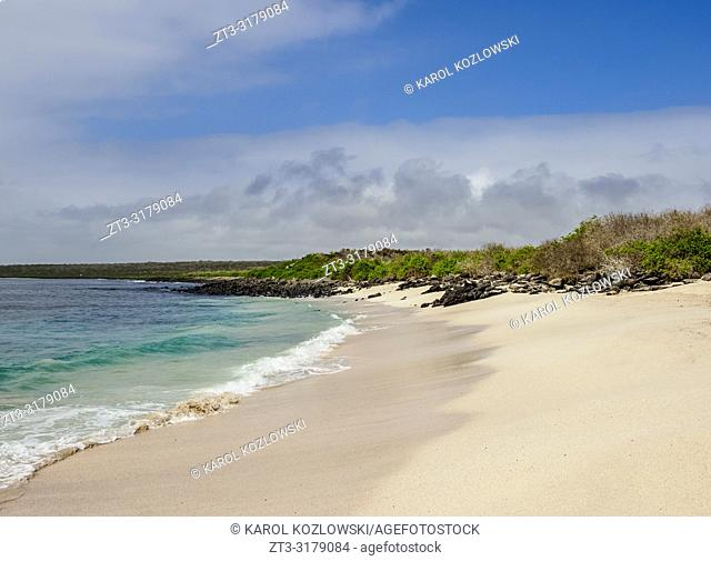 Beach at Punta Suarez, Espanola or Hood Island, Galapagos, Ecuador