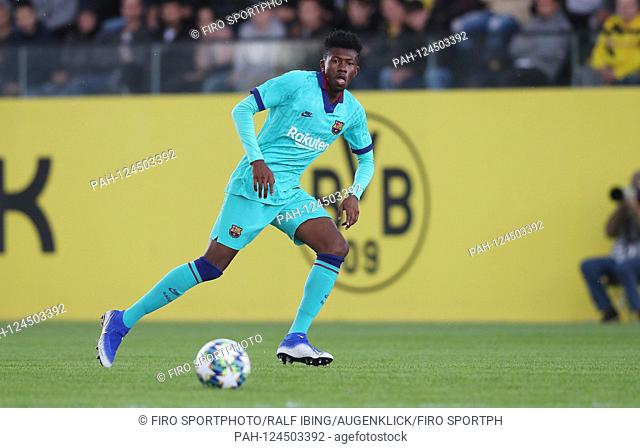 firo: 17.09.2019, football, UEFA Youth League, season 2019/2020, BVB, Borussia Dortmund - FC Barcelona, Barca Igor GOMES SILVA, Barcelona