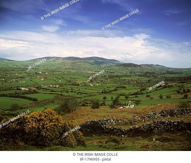 Pastoral Landscape, Slieve Gullion, Co Armagh, Ireland