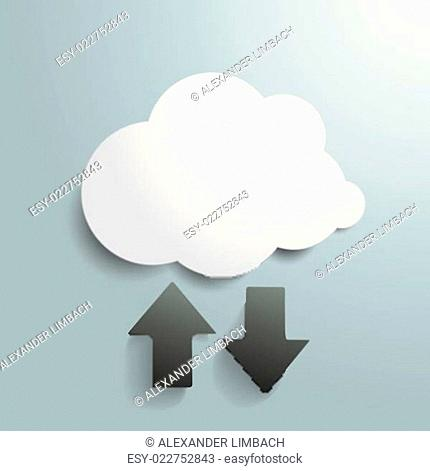 White Cloud Upload Download