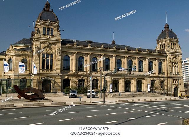 Guildhall, Wuppertal, North Rhine-Westphalia, Germany