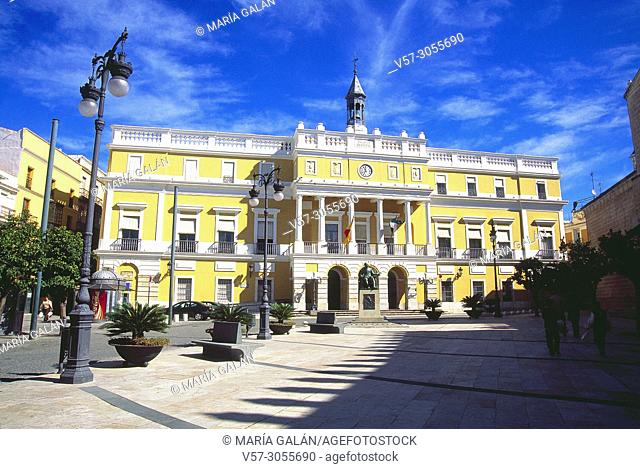 City hall. Badajoz, Spain