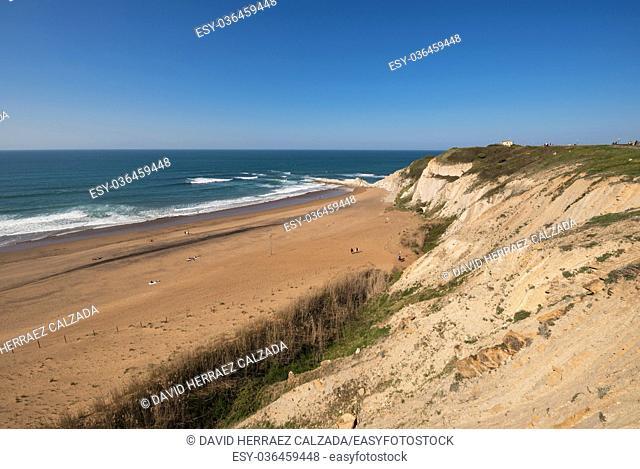 Sopelana beach, Basque country, Spain