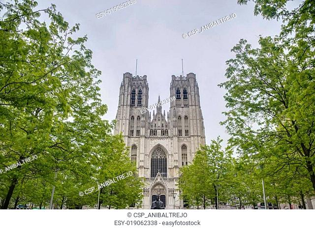 St. Michael and St. Gudula in Brussels, Belgium