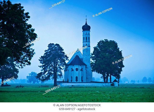 Church St. Koloman, Bavaria, Germany