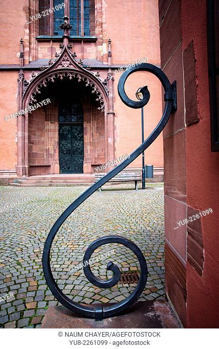 Ornament of old city , Frankfurt am Main , Germany