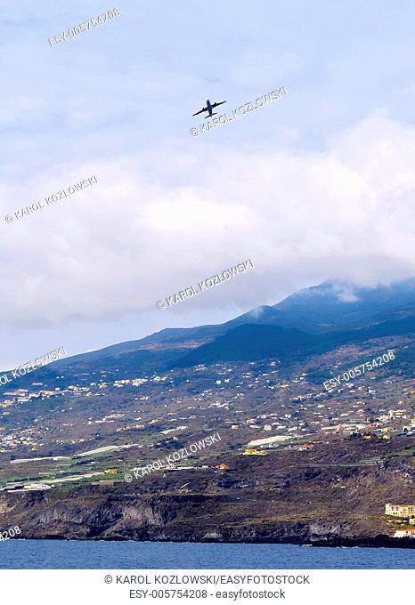 Coastline of the island La Palma, Canary Islands, Spain
