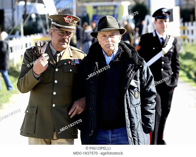 Giancarlo Giannini and Giorgio Capitani