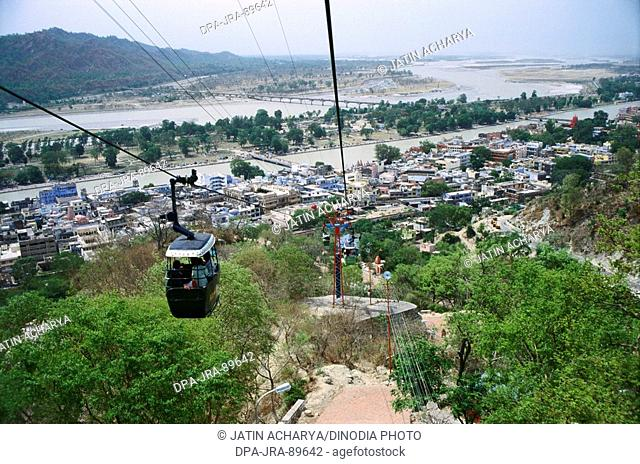 Cable car , Haridwar , Uttaranchal , India