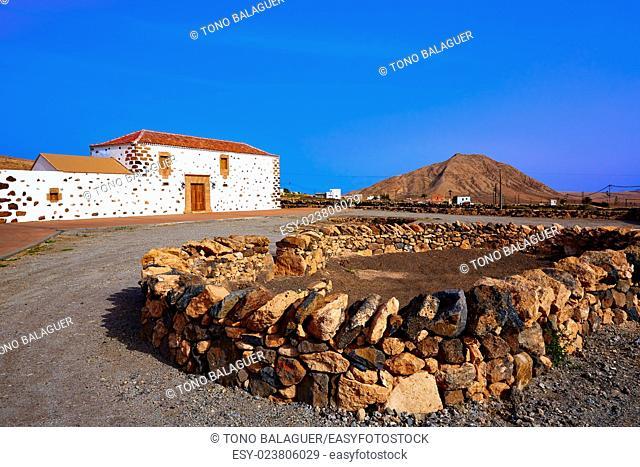 Tindaya Fuerteventura at Canary Islands of Spain