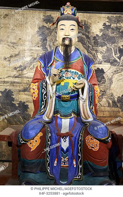 Chine, Province du Sichuan, Chengdu, temple Wuhou / China, Sichuan province, Chengdu, Wuhou Temple