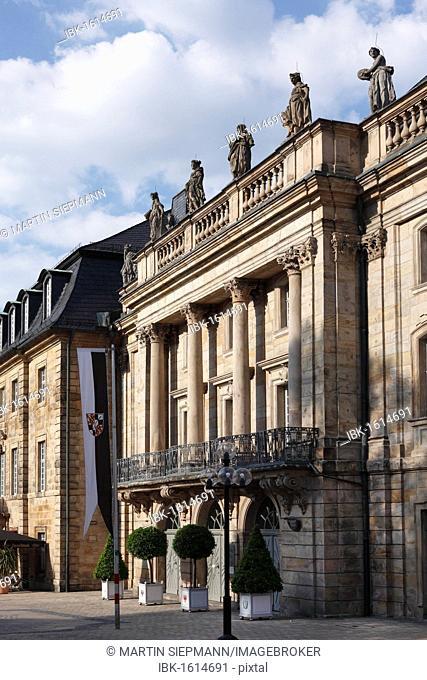 Markgraefliches Opernhaus Margravial Opera House, Bayreuth, Upper Franconia, Franconia, Bavaria, Germany, Europe