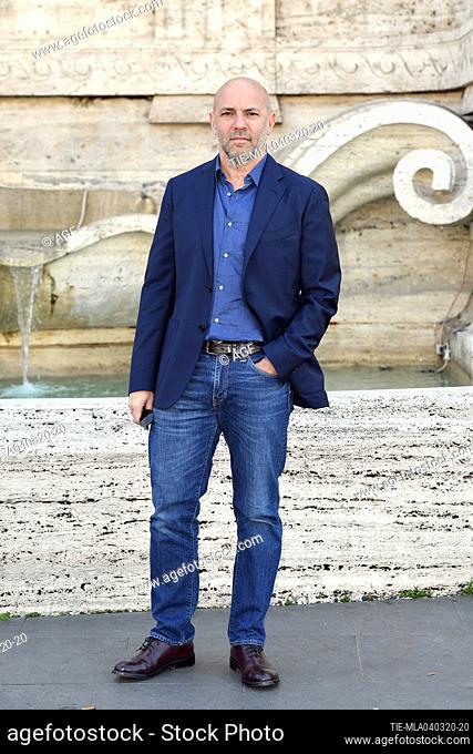 Vincenzo Marra during 'La volta buona' film photocall, Rome, 04/03/2020