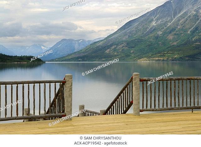 Bennett Lake, Carcross, Yukon Territory, Canada