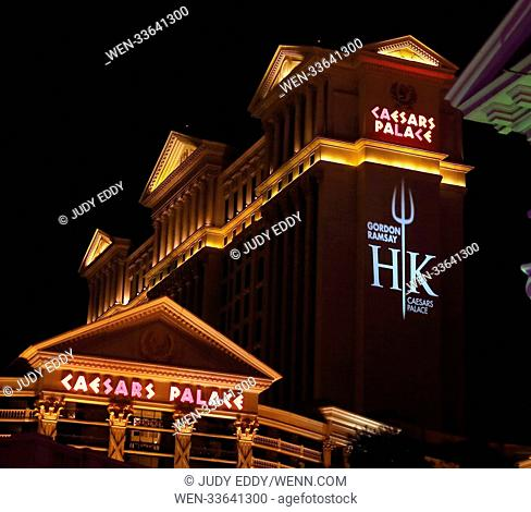 Grand Opening Of Gordon Ramsay Hell S Kitchen Restaurant At Caesars Palace Featuring Emili Milly Stock Photo Picture And Rights Managed Image Pic Wen 33641316 Agefotostock