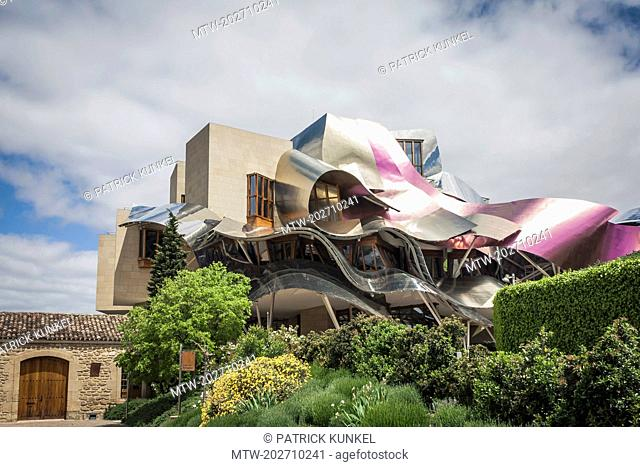 Hotel Marques de Riscal in Rioja, Spain