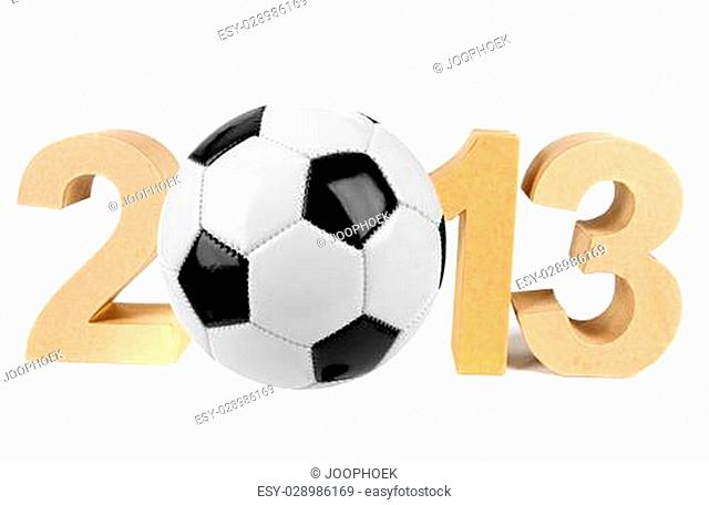 2013 in numbers and a soccer ball