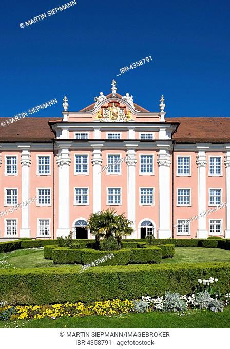 New Castle, Meersburg at Lake Constance, Lake Constance district, Upper Swabia, Swabia, Baden-Württemberg, Germany