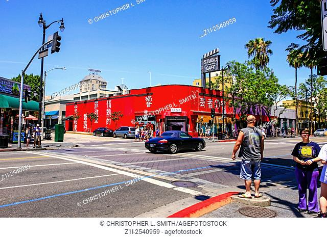 Studio Hollywood Cafe and The Geisha House restaurant in Hollywood california