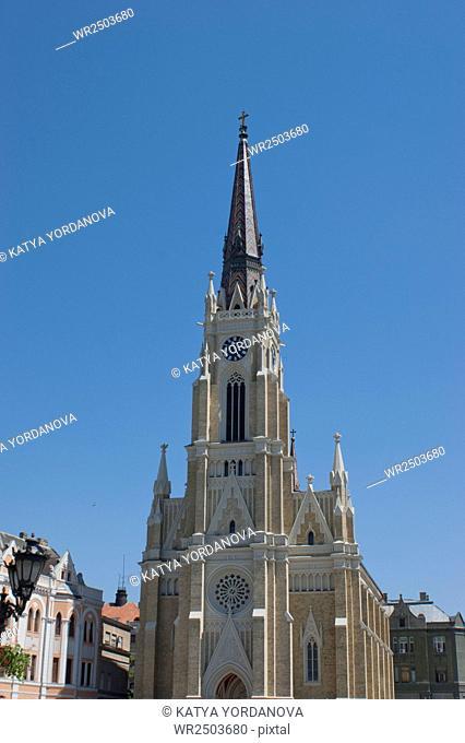Katolic chuch, Novi Sad, Serbija