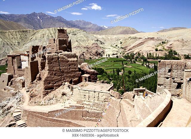 Monastery ruins in the Ladakh, India