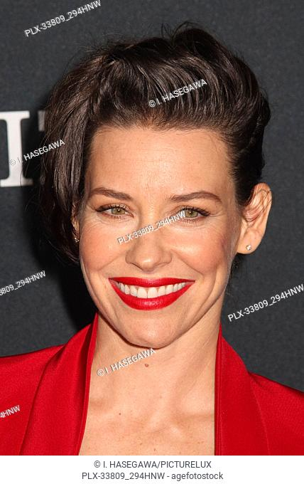 """Evangeline Lilly 04/22/2019 The world premiere of Marvel Studios' """"""""Avengers: Endgame"""""""" held at The Los Angeles Convention Center in Los Angeles, CA"""