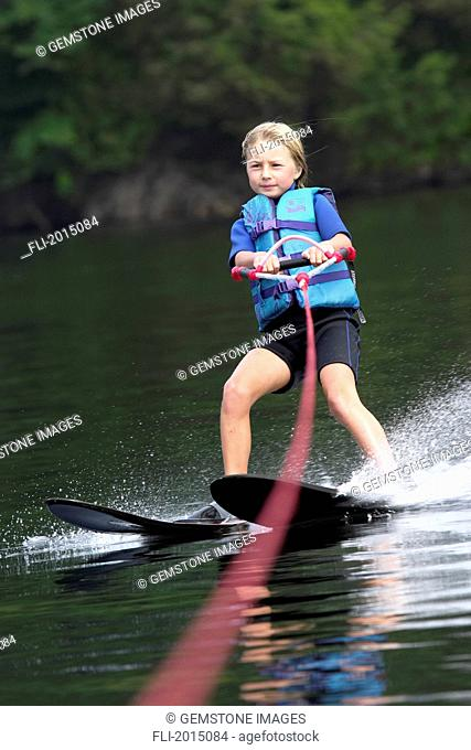 Girl Water Skiing, Ontario