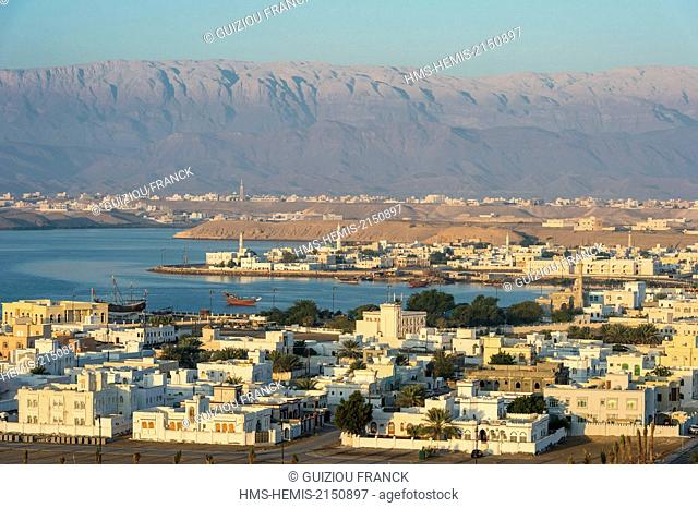 Sultanate of Oman, gouvernorate of Ash Sharqiyah, the port of Sur