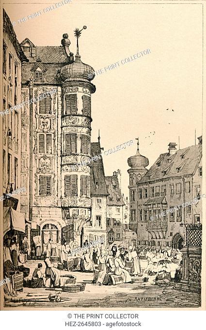'Ratisbon', c1820 (1915). Artist: Samuel Prout