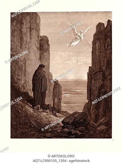 THE ANGELIC GUIDE, BY GUSTAVE DORE
