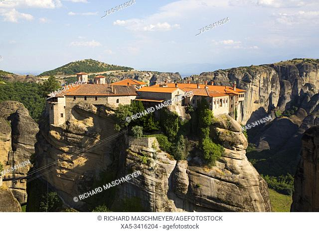 Holy Monastery of Varlaam, Meteora, UNESCO World Heritage Site, Thessaly, Greece