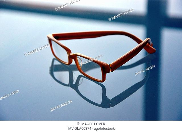 Close Up of Eyeglasses